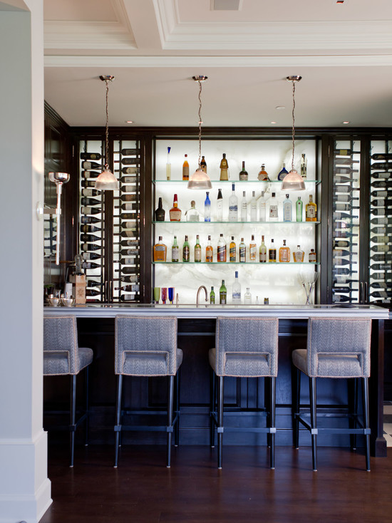wonderful-bar-chairs-kitchen-wine-rack-kitchen-countertop-kitchen-tabletop-hanging-bulb-lamps-ceiling-panels